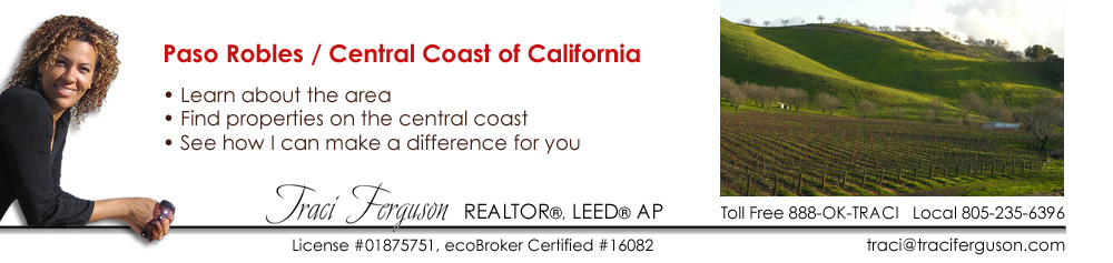 Paso Robles, Realtor, Real Estate Agent, ecoBroker, Property, Find Agent
